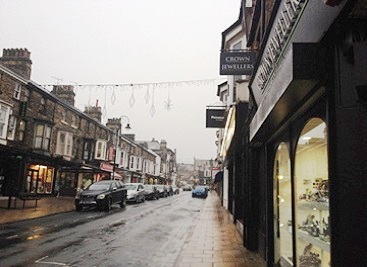 Commercial Street Retailers in Harrogate